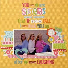 Using different letter stickers to scrapbook a favorite photo + quote... Julie Johnson for #BellaBlvd