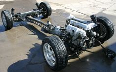 Exomotive - US Manufacturer of Exocars & Kit Cars   Mating the Exocet chassis to the Miata drivetrain