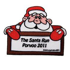porvoo-haalarimerkki-promler Santa, Running, Keep Running, Why I Run