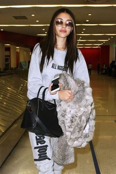 Madison Beer #MadisonBeer Travel Outfit LAX Airport 14/02/2017 Celebstills M Madison Beer
