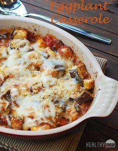 Eggplant Casserole | Healthy Recipes Blog #eggplant #casserole #healthy