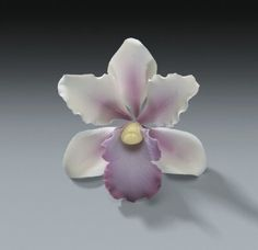 gumpaste flowers tutorials   TROPICAL ORCHID GUM PASTE FLOWERS 3 1\/2 inch