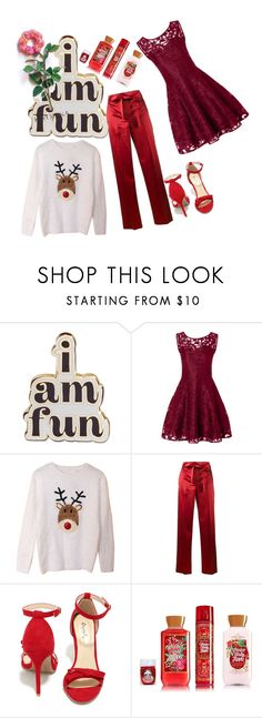 """""""Mean"""" by explorer-14796283599 ❤ liked on Polyvore featuring ban.do, Helmut Lang, Qupid and Kiyonna"""
