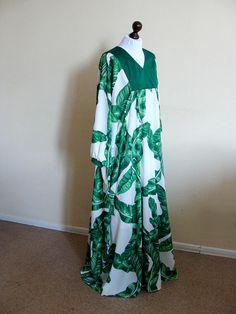 Summer maxi dress, Plus size Kafan, Owersize long dress, Palm dress, Muslim clothing,Ramadan,Eid, Pregnancy floor dress, Bohemian look,Abaya