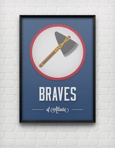 Atlanta Braves Print
