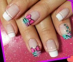 Nails French Tip Nails, Salvador, You Nailed It, Nail Designs, Nail Art, How To Make, Inspiration, Beautiful, Art Nails