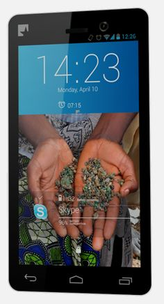 "They're calling it the ""Fairphone."" It's a smart phone made using conflict free minerals, and the company has full transparency in their supply chains. It's the first of its kind, and we're excited about the possibilities it offers, not only for cell phones, but hopefully for all electronics."