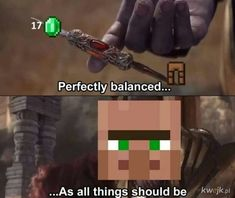 Minecraft villager trading in a nutshell Really Funny Memes, Stupid Funny Memes, Funny Relatable Memes, Haha Funny, Funny Gaming Memes, Gamer Humor, Funny Games, Best Memes, Dankest Memes