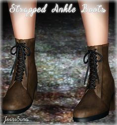 My Sims 3 Blog: Ankle Boots by JenniSims