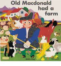 Old Macdonald is a children's classic for a range of ages which is great for encouraging song! If you are including enough singing in your day, your child should be enjoying songs and attempting to sing by 12-18 months of age! By 18 - 24 months, they should be able to imitate any finger plays or actions that go along with the songs, and by 42-54 months, beginning to perform songs and dances for others!
