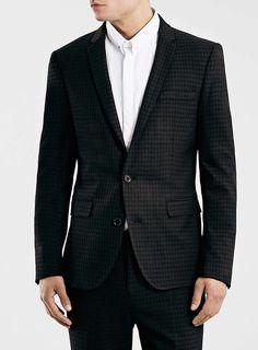 Selected Homme Black Blazer #topman #blazer #eveningwear #smart #drinks #sharp