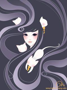 Hide And Seek by CQcat.deviantart.com on @deviantART