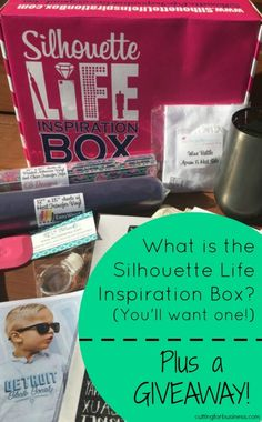 Introducing the Silhouette Life Inspiration Box - And Why You'll Want One - by cuttingforbusiness.com
