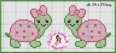 New crochet animals turtle cross stitch ideas Cross Stitch Owl, Baby Cross Stitch Patterns, Cross Stitch For Kids, Cross Stitch Borders, Cross Stitch Animals, Hand Embroidery Patterns, Cross Stitch Charts, Cross Stitch Designs, Cross Stitching
