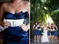 I defiantly want my bridesmaids to have Nude Heels with there navy dresses