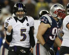 Maybe now observers will label Super Bowl-bound Joe Flacco an elite NFL quarterback John Harbaugh, Afc Championship, Andrew Luck, Ray Lewis, Nfl Playoffs, Wide Receiver, Peyton Manning, Baltimore Ravens, New England Patriots