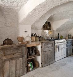 Provence Rural Chateau by msanzub    Not a practical kitchen, but a beautiful one nonetheless