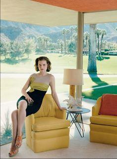 Jorgenson-Mavis House, 1955, William F. Cody, Rancho Mirage