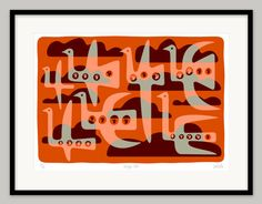 Geezy Jet by Lo Cole - Limited edition archival pigment ink print