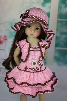 Outfit for dolls little darlings effner 13"