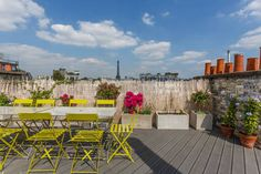 Check out this awesome listing on Airbnb: Roof Top-Eiffel Tower View in Paris