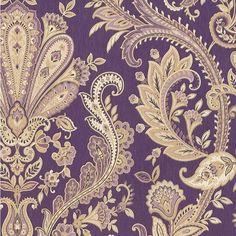 barok paars behang MD29427