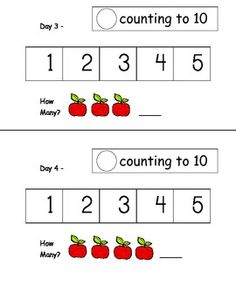 Kindergarten Math Journal - August to May COMMON CORE--there would be a lot of printing involved with this...as opposed to the ones printed on labels...but I like some of the things, like the smilie for oral counting with the class.