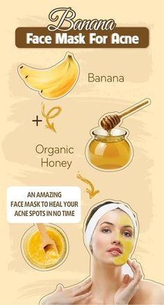 Amazing Bananas - Face Mask For Acne - Style Vast - Amazing Bana . - Amazing Bananas – Face Mask For Acne – Style Vast – Amazing Banana Face Mask For Acne – - Face Mask For Pores, Acne Face Mask, Acne Skin, Acne Facial, Facial Cleanser, Diy Hydrating Face Mask, Oily Skin, Face Mask Diy, Face Diy