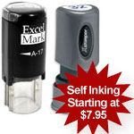 RubberStamp.com's discount self inking stamps, such as inspection Stamps, help you control quality and ensure specific standards are being met.