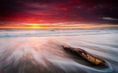 Free Leithfield Beach Sunrise phone wallpaper by brichristie89