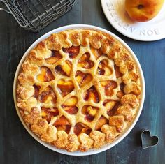 """625 Likes, 35 Comments - Alison (@twoofakindcooks) on Instagram: """"Family potluck tonight - I'm bringing peach pie! It's a simple recipe: Make a double crust and fill…"""""""