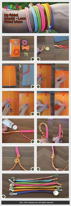 DIY Fishtail Bracelet - Learn Fishtail Weave diy crafts craft ideas diy crafts