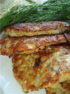 Рубленые котлетки из куриной грудки ( диета Дюкан) : Вторые блюда