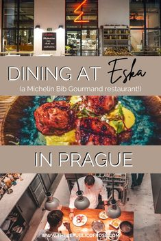 Wondering where to dine in Prague? Eska was one of my favorite meals in Prague with delicious food and a hip ambience. Visit Prague, Prague Travel, The Republic, Foodie Travel, Delicious Food, Favorite Recipes, Restaurant, Meals, Dining