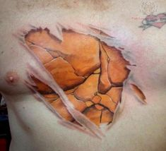 skin tattoos | Torn Ripped Skin Tattoos Pictures and Images : Page 8