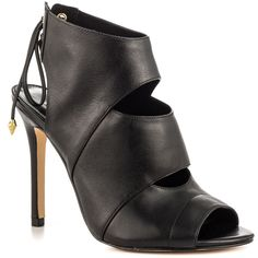 Ollay - Black Leather Guess Shoes $119.99