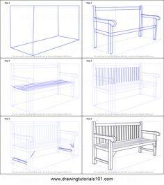 The chair single point perspective zeichnen for Stuhl design kunstunterricht