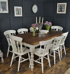 Awesome Modern Farmhouse Dining Room Design Ideas - Page 37 of 49 - Aidah Decor Decor, Large Farmhouse Table, Traditional Kitchen Decor, Dining Room Budget, Dining Table, Farmhouse Dining Room Table, Dining Room Decor, Dining Room Table, Dining Room Table Decor