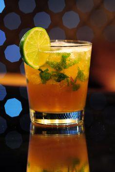 FDR Cocktail: Appleton rum + St. Germain + brown sugar + lime + mint