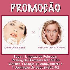 Cha de Beleza & Bem Estar: Limpeza de Pele + Peeling de Diamante Promoção em ...