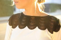 Bibbed Lace. Lace is a fashion fad I can get behind. I feel like my wardrobe is craving so much more