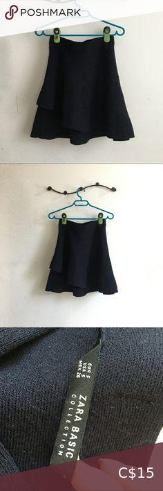 2/$25 Zara Knit A-Line Knit Skirt Knit skirt  Elastic waist 10/10 condition Zara Skirts A-Line or Full Zara Skirts, Plus Fashion, Fashion Tips, Fashion Trends, Knit Skirt, Zara Black, Cheer Skirts, Elastic Waist, Ballet Skirt