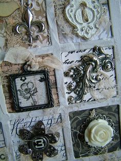 Charmingly Yours detail by Carol Wingert