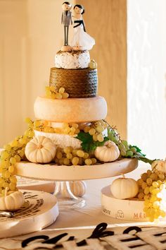 Oliver's Own Cheese Wedding Cake
