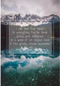 Inspirational Quotes Hillsong So Will I