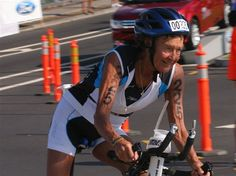 Sister Madonna aka the iron nun. 81 year old woman who has the world record for oldest woman to compete in iron mans. what a woman!