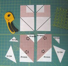 Lots of Hearts piecing tips