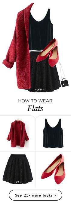 """""""Red roses"""" by foreverfashionfever101 on Polyvore featuring MANGO, Wet Seal and Yves Saint Laurent"""