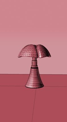 @martinelliluce , Pipistrello lamp rendering