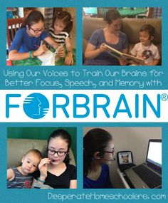 """""""I feel confident recommending the Forbrain for anyone who would like to improve their focus, concentration, speech, or memory. Sensory Integration, Add Adhd, Confident, The Voice, Brain, Homeschool, Ads, Memories, Feelings"""